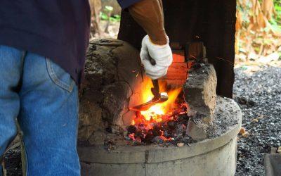 Off The Beaten Path Thailand: Hand Forging an Axe in Thailand