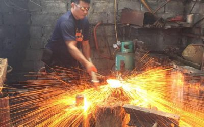 Book an Axe Forging Class in Thailand
