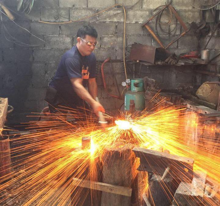 Book an Axe Forging Class in Thailand