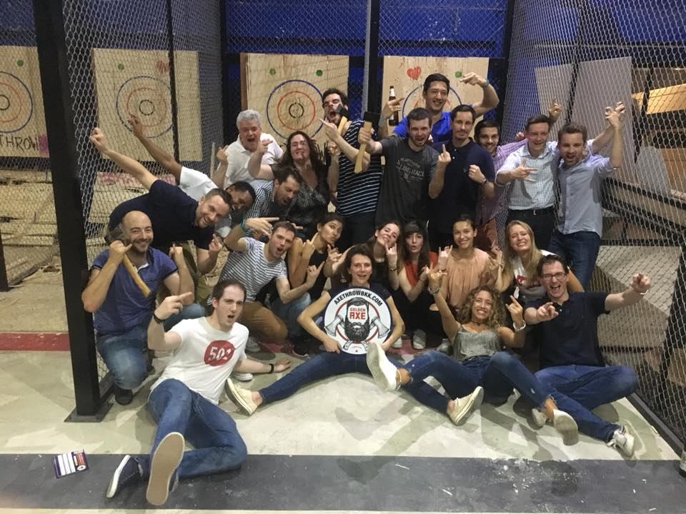 Book an Axe Throwing Event in Bangkok