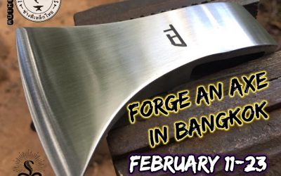 Book an Axe Forging Class in Bangkok, Thailand (UPDATE 2019)