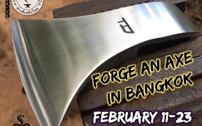 Book an Axe Forging Class in Bangkok, Thailand (UPDATE 2019)