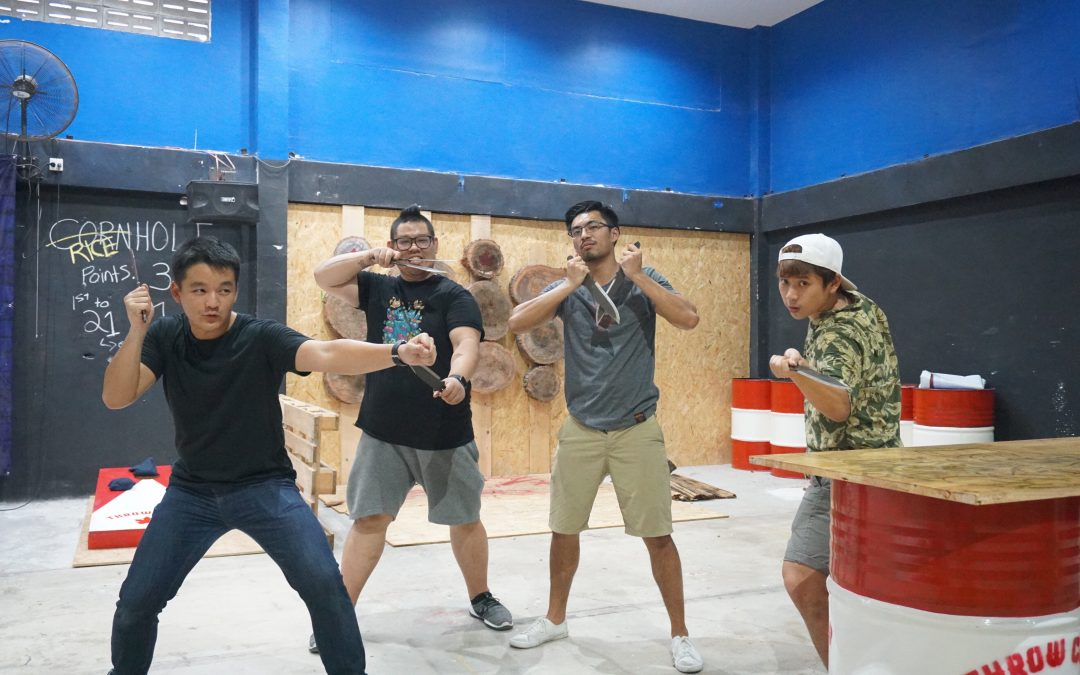 Knife Throwing Has Arrived in Bangkok!
