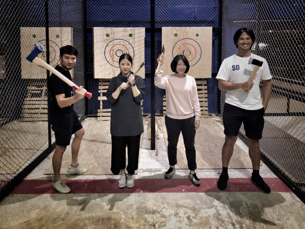 Top Things to do in bangkok Axe throwing