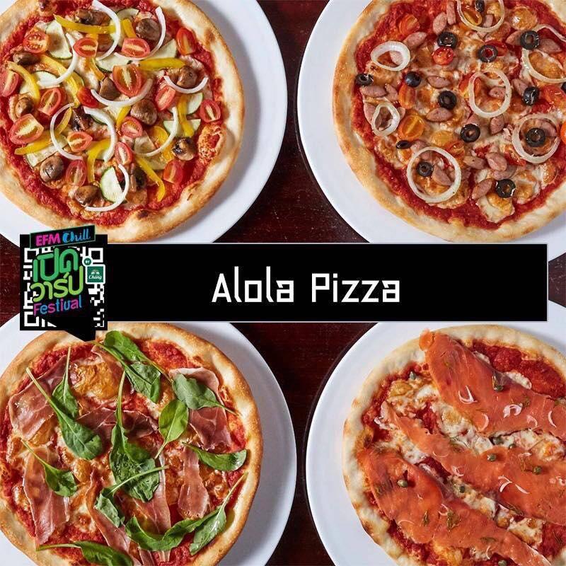Alola Pizza Bangkok Thailand Wang Hin Rd