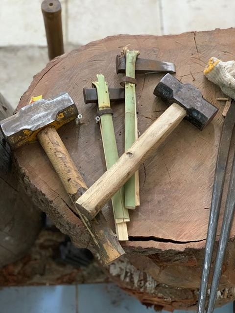 Homemade Blacksmith Tools