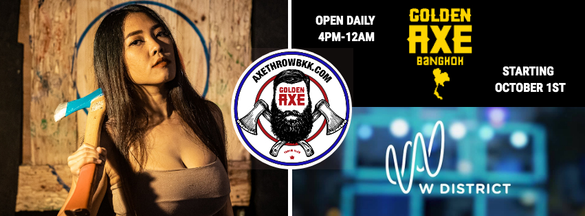 Axe Throwing Bangkok: Grand Opening December 22nd